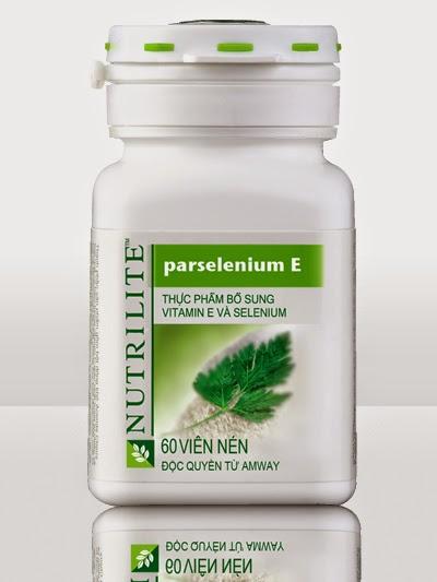 Nutrilite ParSelenium E bổ sung Vitamin E và Selenium của Amway