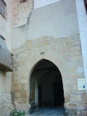 San Gregorio, San Gregori, exterior, Pedro López de Luna, media luna invertida