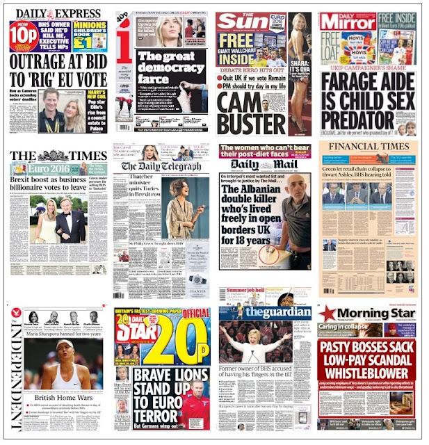 Front pages 09-06-16