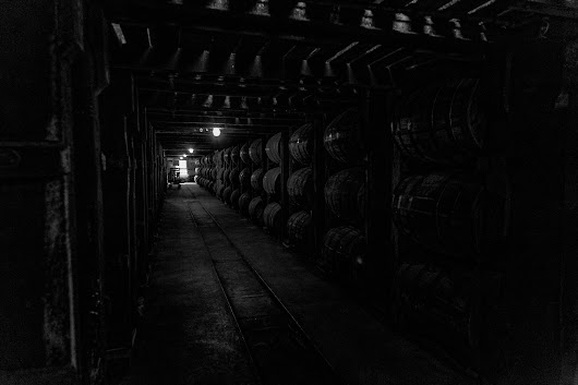 Buffalo Trace Distillery Barrel Room