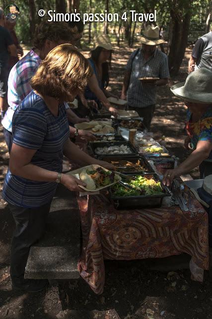 Spirit of kakadu lunch time
