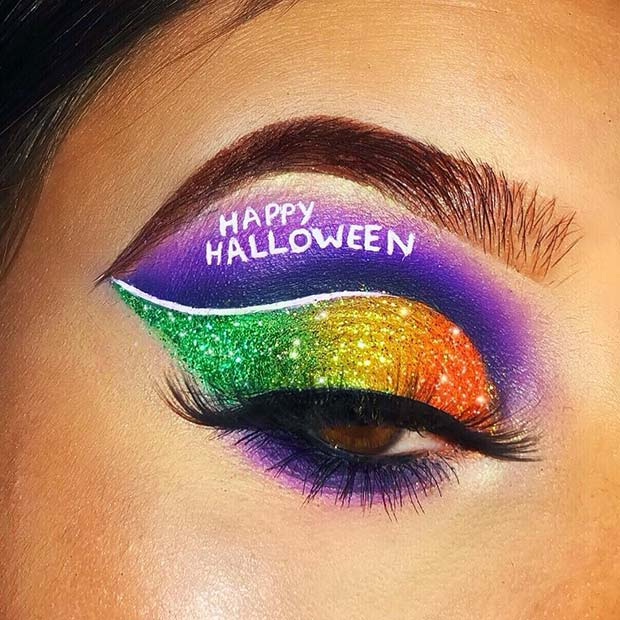 Still trying to find the proper makeup to wear this Halloween ✘ 23+ Creepy Halloween Eye Makeup Ideas To Copy In 2020