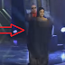 The man covers her with curtain.. When he pulls it away, the judges drop their jaws!