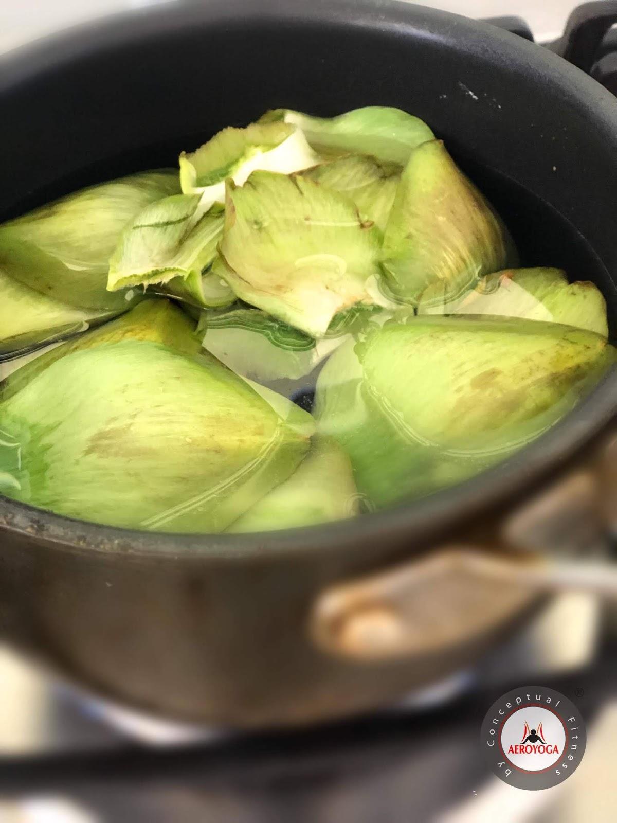 Receta del te de alcachofa para adelgazar