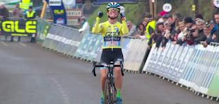 Championnat de France cyclo-cross Lanarvily Caroline Mani