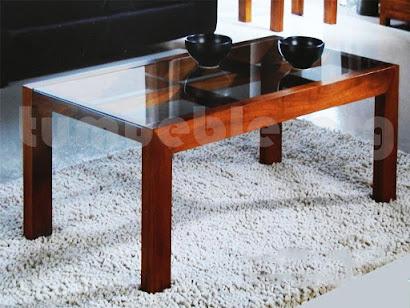 mesa de centro hecho en teca 4141