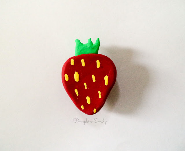 DIY Fruit Magnet | DIY Polymer Clay Magnet