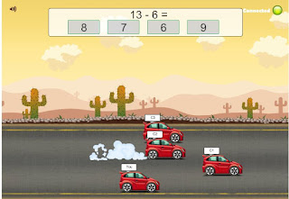 http://www.multiplication.com/games/play/road-rally-multi-player-subtraction