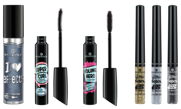 essence glamour brow gel mascara