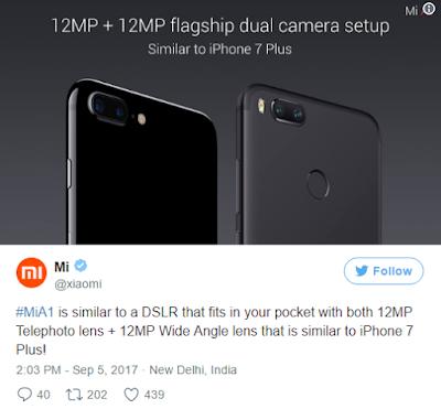 Wow Xiaomi A1, Ponsel Flagship Rp 3 Jutaan Dengan Kamera Ganda 9