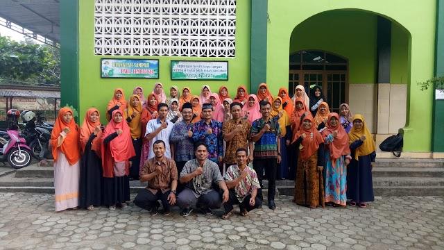 Workshop TERPADU Guru SDIT Wahdatul Ummah Metro