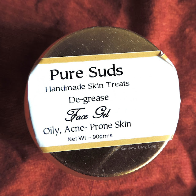 Pure Suds De-grease face gel for oily and acne prone skin review