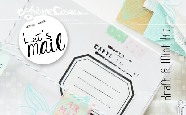 bohème circus - mail kit - inspiration