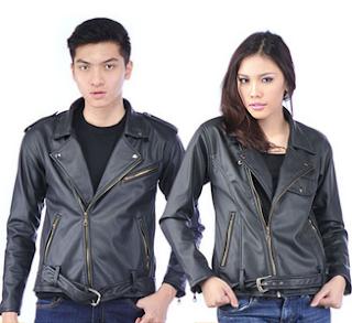 jaket kulit pasangan