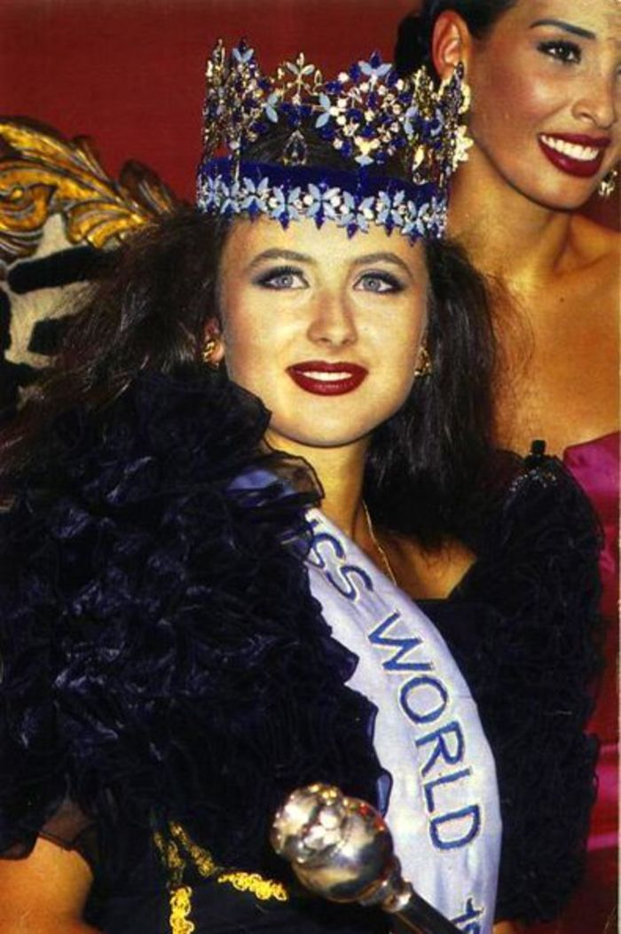 Miss World Of 1992 – Julia Kourotchkina
