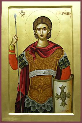 sveti Prokopij - vojak in mučenec