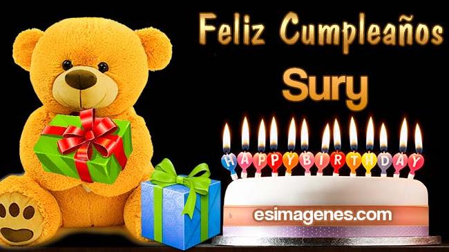 Feliz Cumpleaños Sury