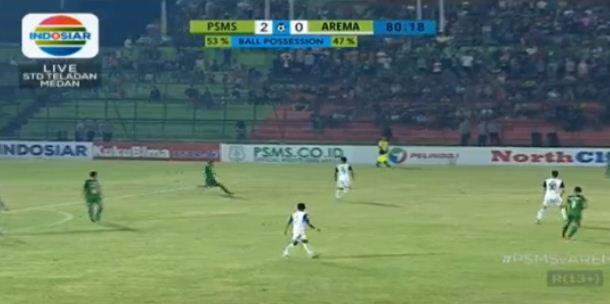 Hasil PSMS Medan vs Arema FC 2-0 Liga 1 Sabtu 26 Mei 2018