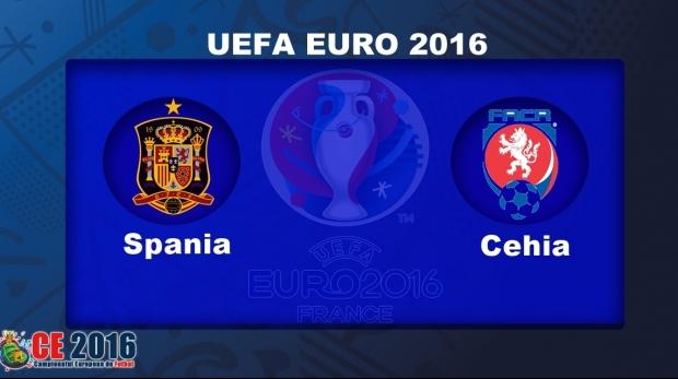 Urmariti meciul Spania - Cehia Live pe DolceSport 1