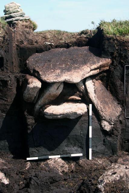 Whitehorse hill Bronze Age kist