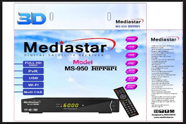 MEDIASTAR MS-950 FERRARI ATUALIZAÇÃO V1.09.17132 - 10/10/2016