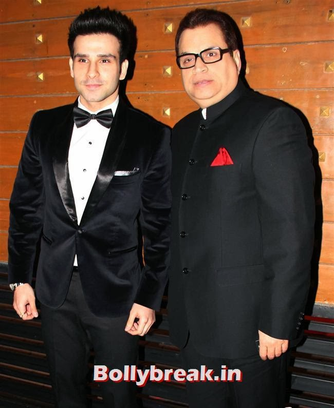 Girish Kumar and Kumar Turani, Filmfare Awards 2014 Red carpet Images