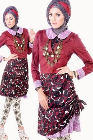 Contoh Fashion Baju Muslim Blazer Remaja 2015