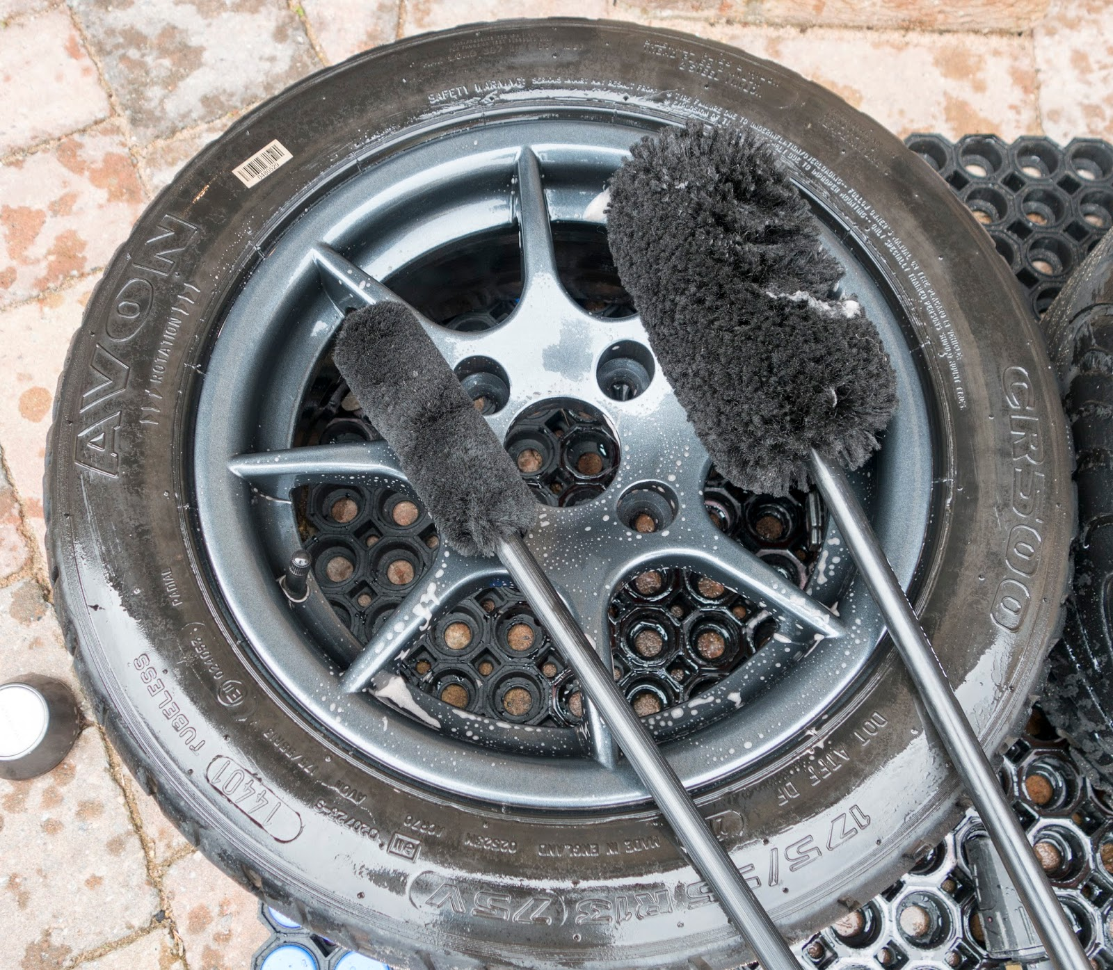 Wheel woolies great for cleaning your wheels.