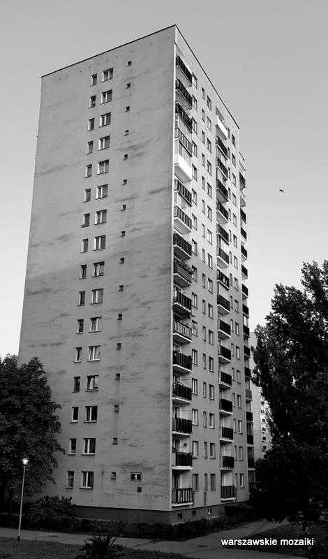 Bielany Warszawa Warsaw blok blokowisko architektura miasto city warszawskie blokowiska