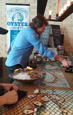 Shucking Oysters With Chef Michael Smith The Chase #SparklingClean