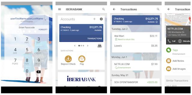 IBERIABANK Mobile App
