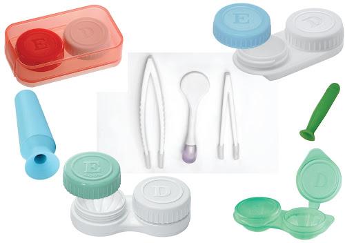 e37179e4ec420 Estojos e assessórios para lentes de contato, feitos especialmente ...