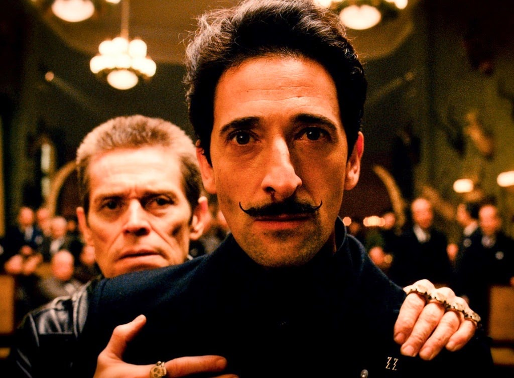 the grand budapest hotel-willem dafoe-adrien brody