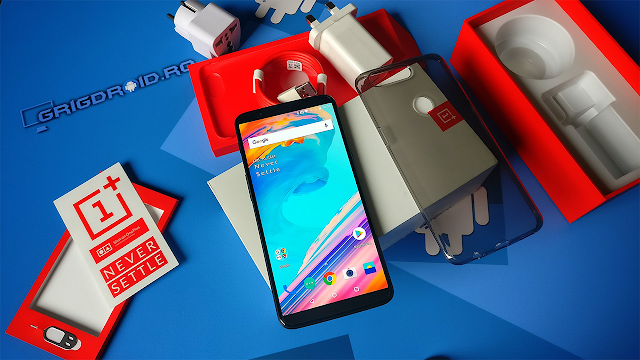 OnePlus 5T video-unboxing