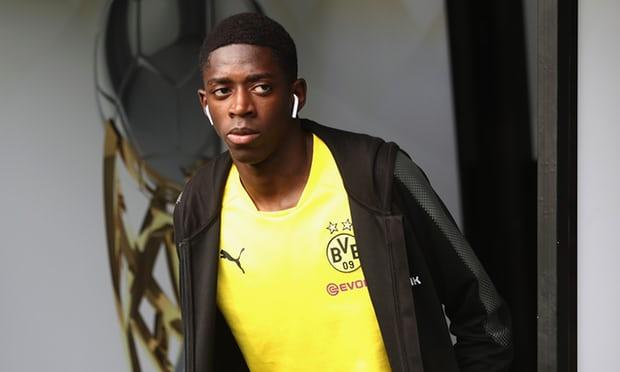 Dortmund hét giá cực khủng cho Dembele