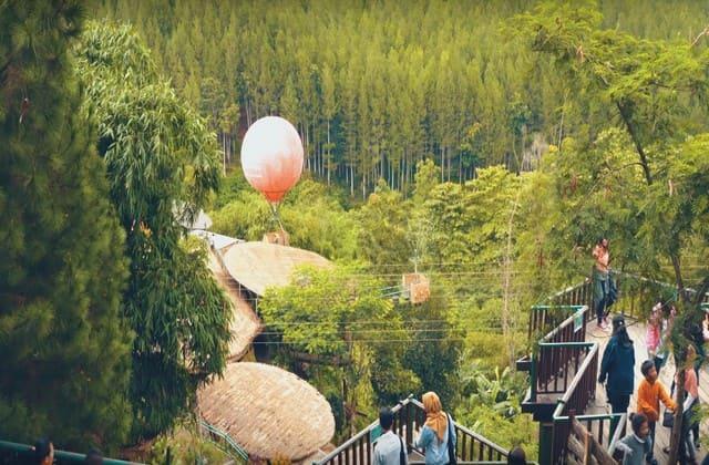 The Lodge Maribaya, salah satu destinasi terbaik yang harus kamu kunjungi sata berlibur di Bandung