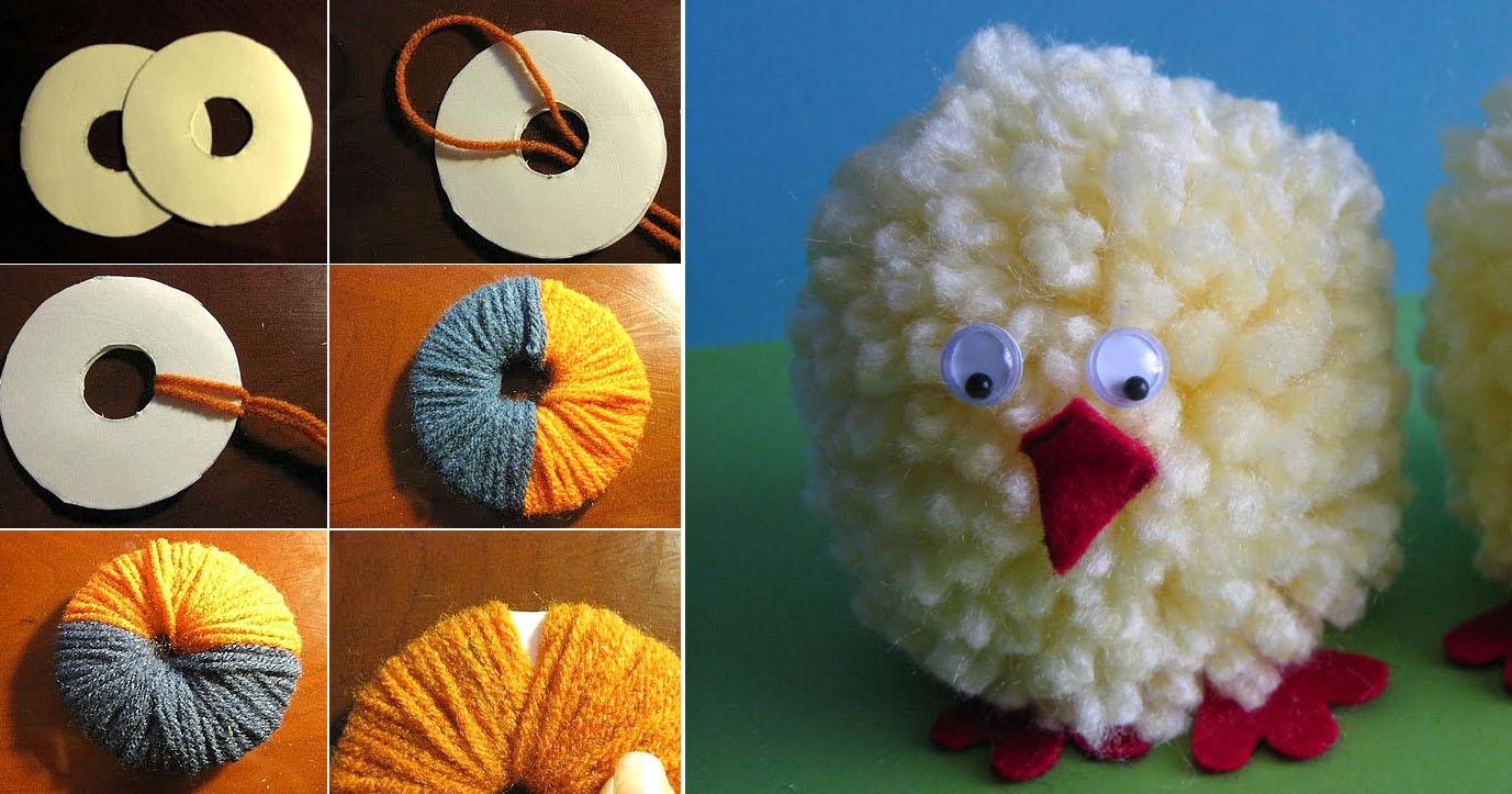 Manualidades hilos y lanas - Manualidades en lana ...