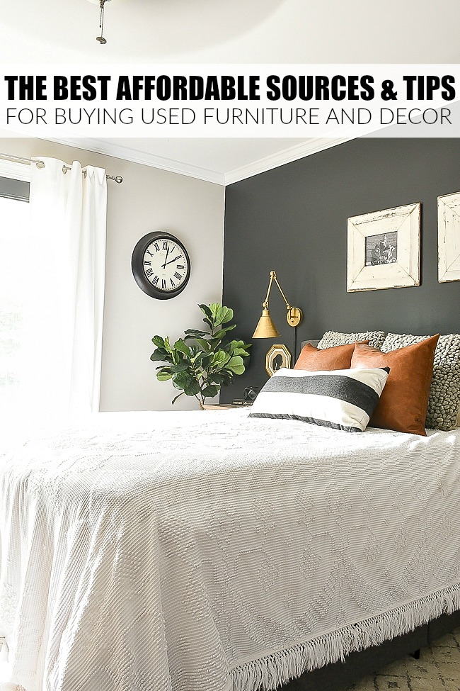 Best affordable sources for buying used furniture and decor