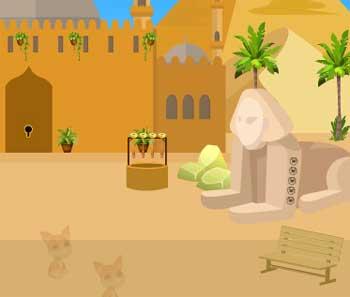 Juegos de Escape - Mummy Coffin Escape