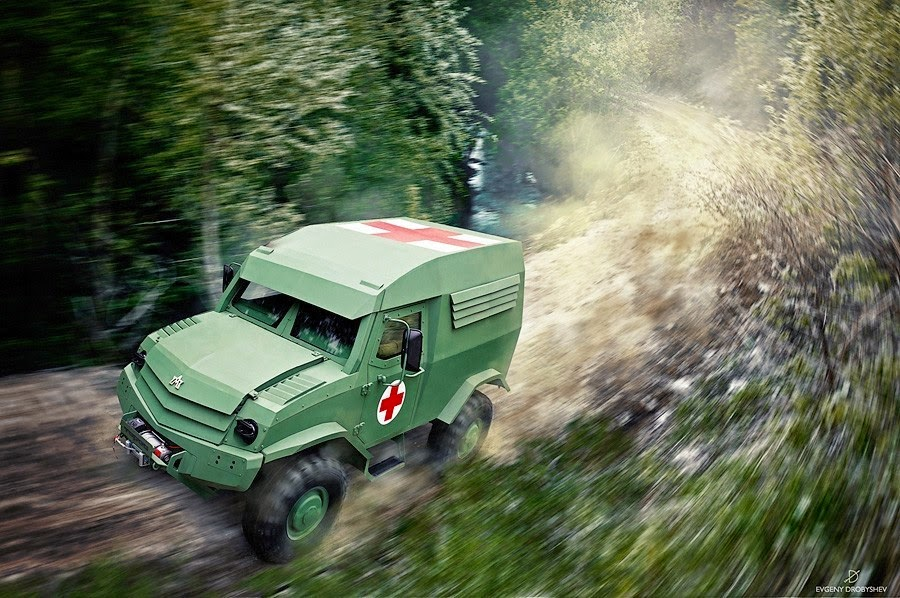 Russian Offroad Vehicle 114