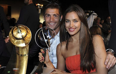 Football Super Star Player: Cristiano Ronaldo With New Girlfriend Pictures 2013