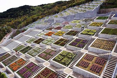 Jardins de Awaji Hyakudanen - Hyogo - Japão
