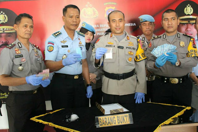Polisi Temukan Jaringan Sabu Dikendalikan Napi dari Lapas Pariaman