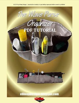 The Wave Purse Organizer by eSheep Designs