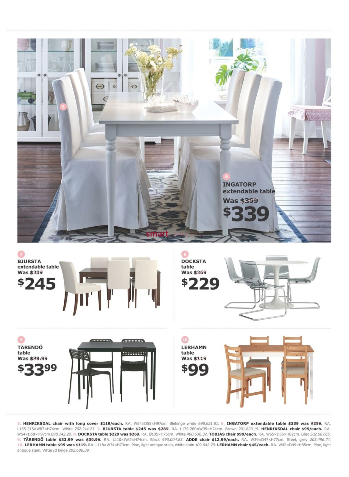 Discount Furniture Stores Winnipeg Ikea Flyer April 10 May 1 2017 Weekly Flyers Canada