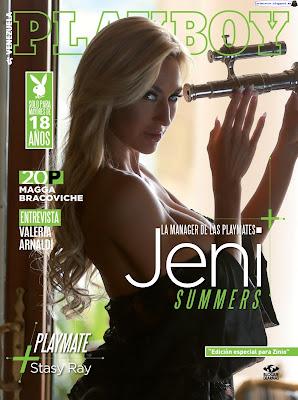 Jeni Summers - Playboy Venezuela 2017 Febrero (41 Fotos HQ)