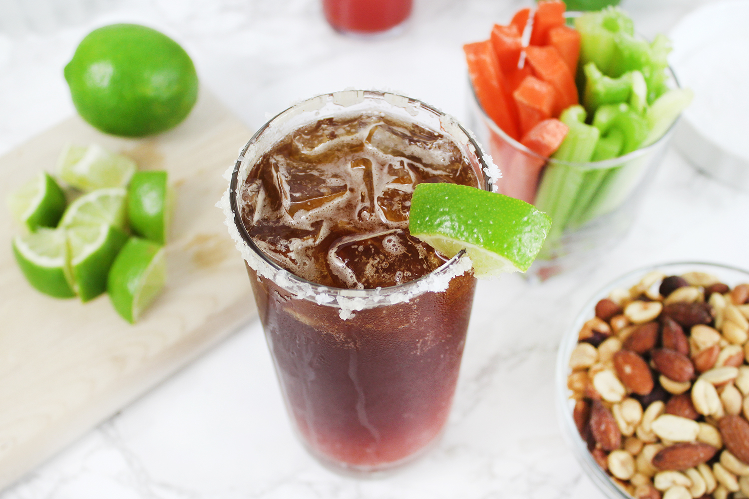 Dark & Spicy Michelada