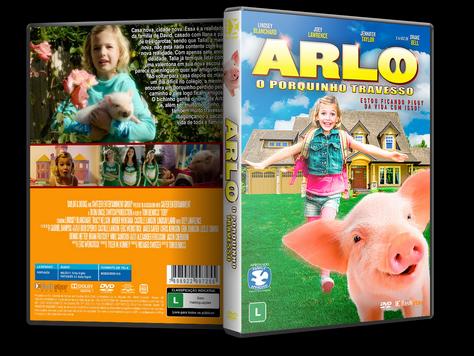Capa DVD Arlo O Porquinho Travesso [Exclusiva]