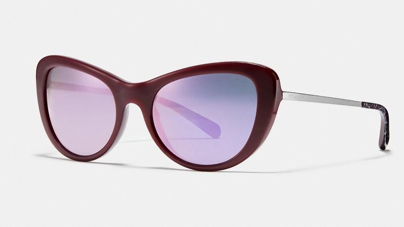 Coach Ombre Signature Cat Eye Sunglasses