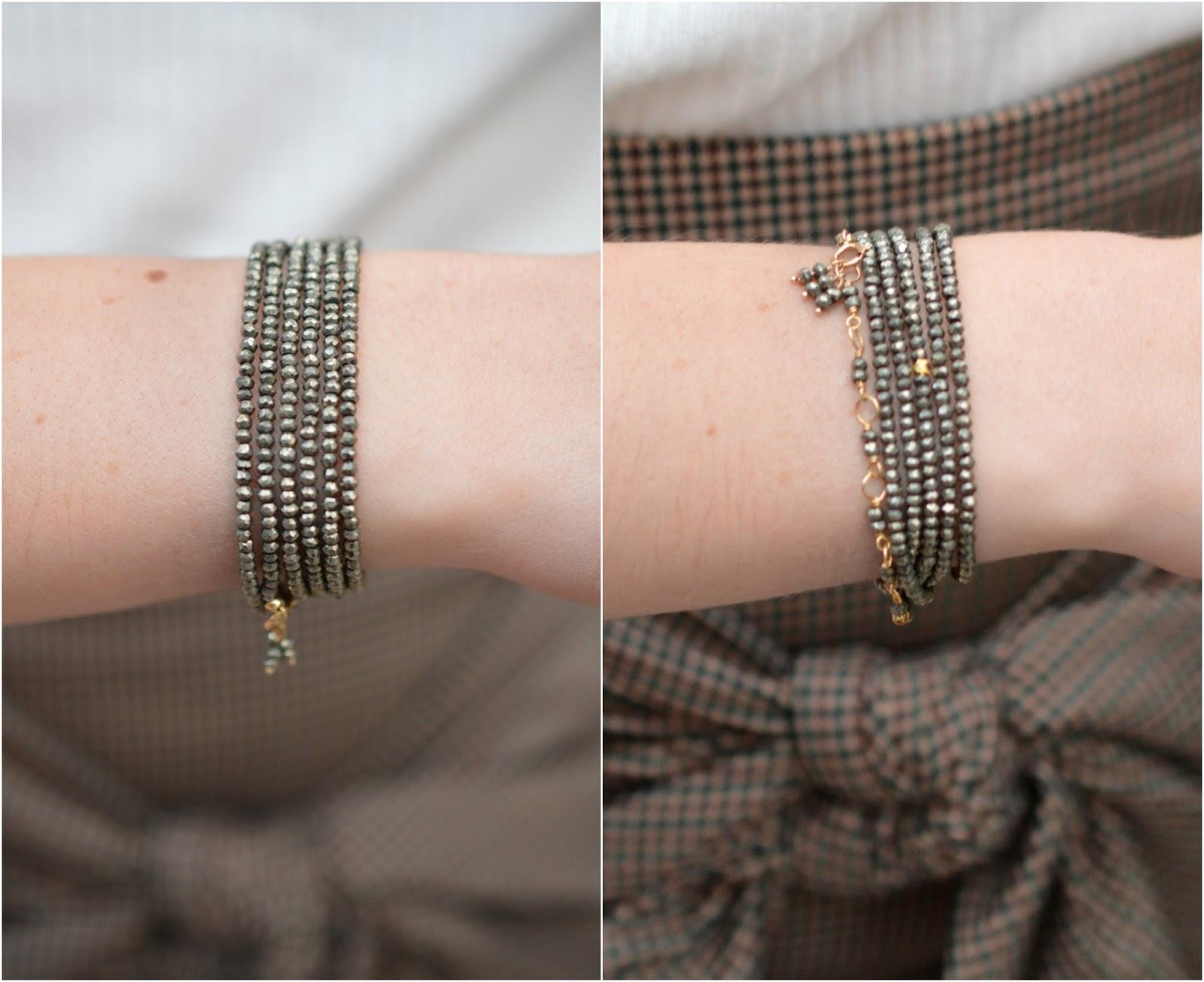 Anne Sportun Wrap Bracelet